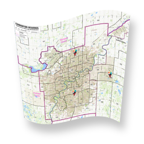 Find A Store, Map
